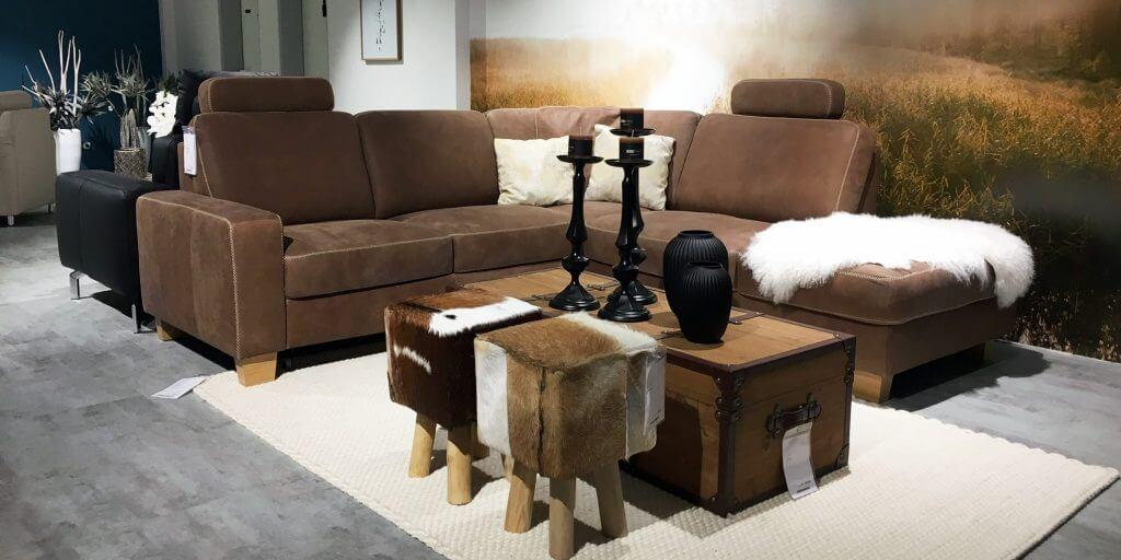 Sofa im Möbelhaus Kuboth