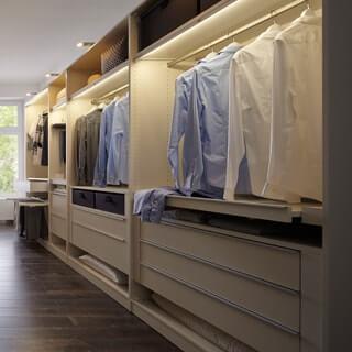Kuboth Schlafzimmer Kleiderschrank Innen