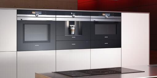 Kuboth Siemens Küchengeräte Schwarz Weiß