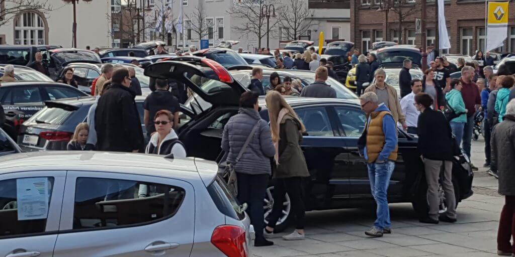 8 April 2018 Verkaufsoffener Sonntag Autofrühling Möbelhaus Kuboth