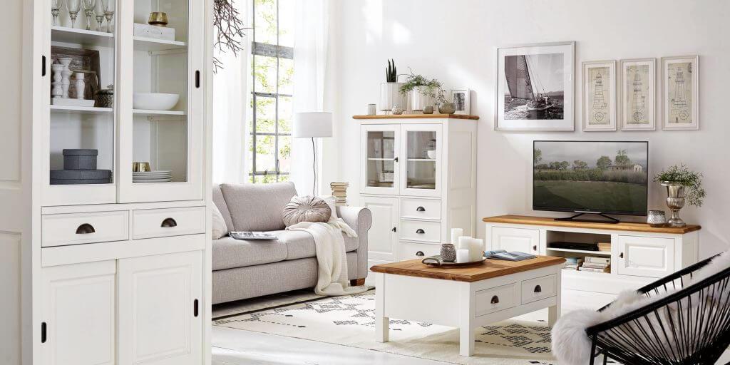 Wohnzimmer Holz Natura