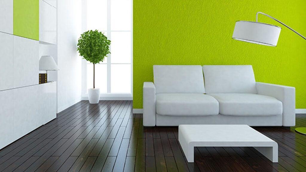 Kuboth 50 Shades of Green Wohnzimmer