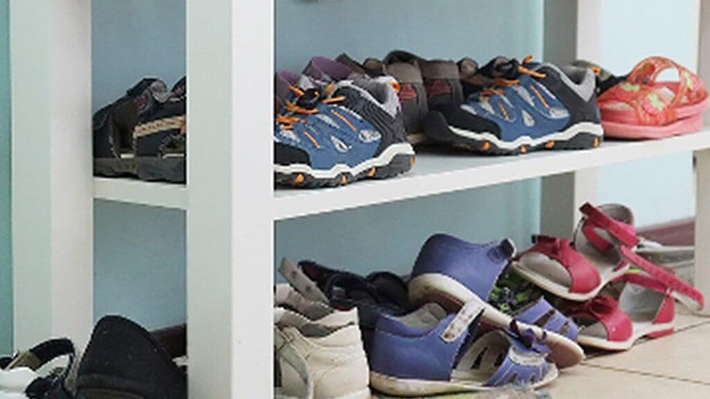Kuboth Kindgerechtes Wohnen Schuhregal