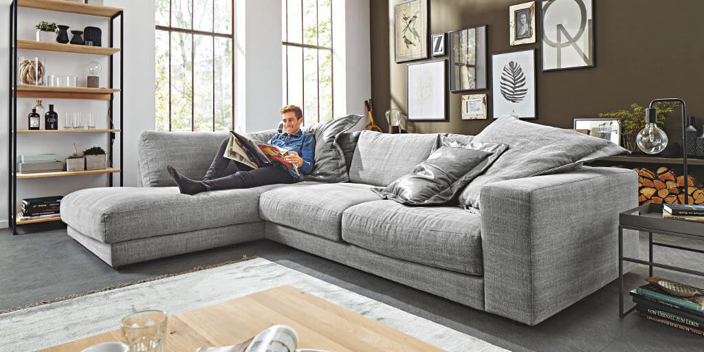 natura pasadena sofa hellgrauer stoffbezug