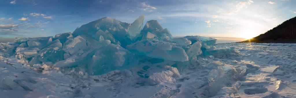 Eiswelt wie im Kühlschrank