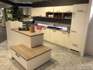 helle Küche bei Möbel Kuboth