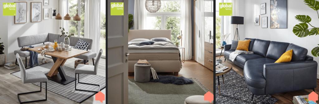 Global Family Möbel für Ihr Wohnzimmer