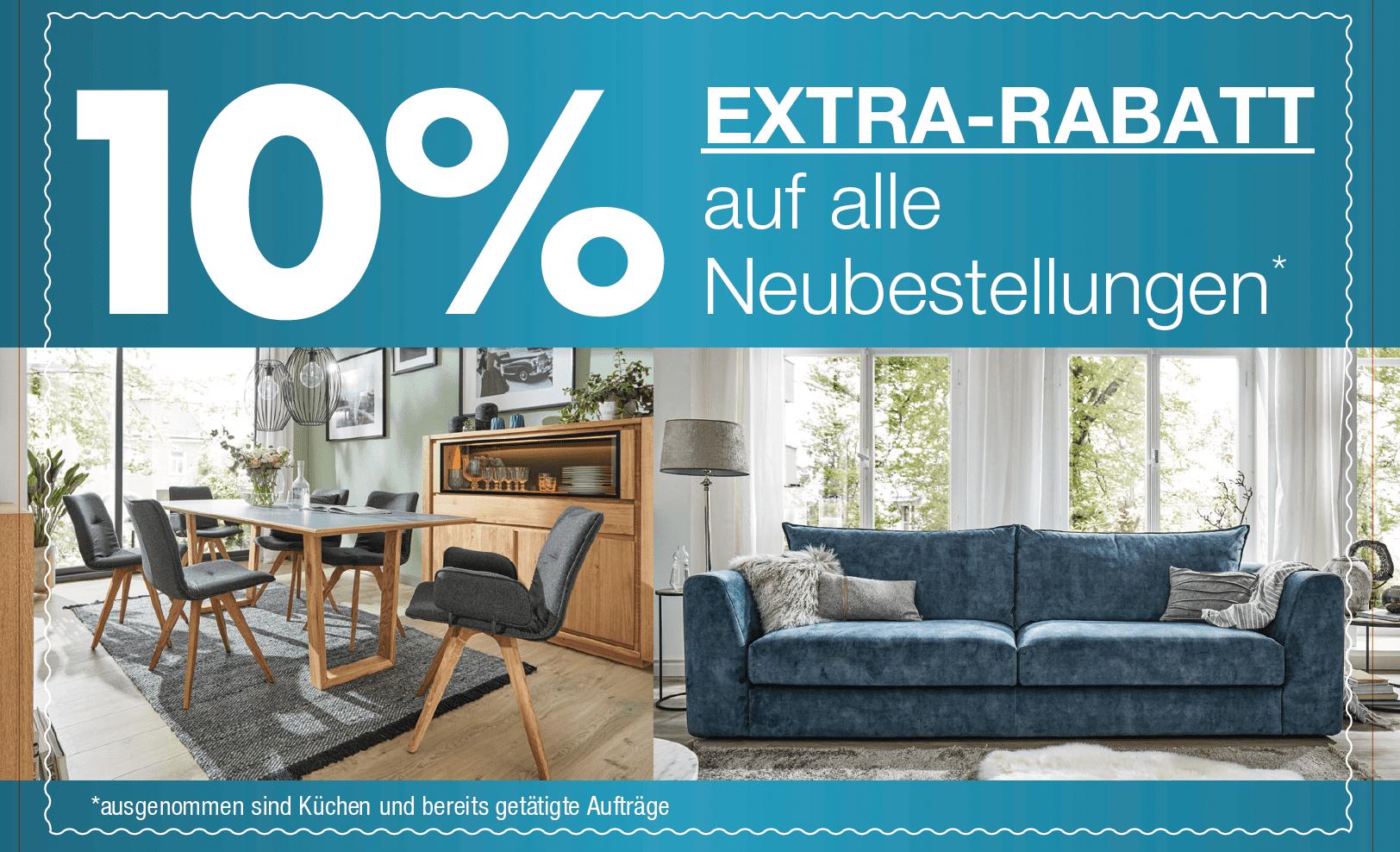 10 Prozent Rabatt bei Möbel Kuboth in Nordenham